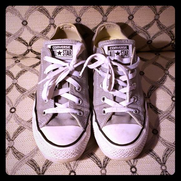 Converse Shoes - Gray Converse